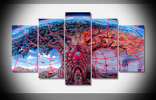 8087 Trippy Alex Grey poster Framed Gallery wrap art print home wall decor wall picture Already to hang digital print wholesale(China)
