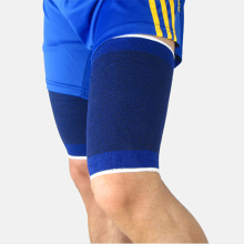 1Pair Outdoor Sports Soccer Football Basketball Volleyball Safety Leg Thigh Muscle Protection Shin Guard Pads Support Brace