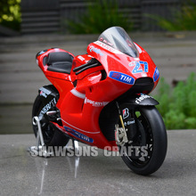 DIECAST MOTORCYCLE MODEL TOY 1:12 DESMOSEDICI CASEY STONER NO.27 SPORT BIKE REPLICA COLLECTION