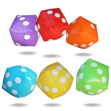 New Arrival 30*30cm Giant Inflatable Air Number Dice Outdoor Beach Toy Party Garden Game Children Toys