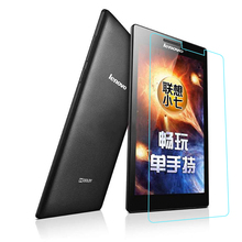 "Tempered Glass Front Screen Protector Film For Lenovo Tab 2 A7 10 A7-10 A7-10F 7"" Tablet PC + Alcohol Cloth Free Shipping"