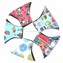 Reusable Colorful Charcoal Bamboo Cloth Menstrual Sanitary Maternity Mama Pads New -B118