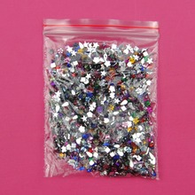 2000PCS/Pack Crystal Clear Non Hotfix Flatback Rhinestones Nail Rhinestone For Nails 3D Nail Art Decoration Gems Mix Color style