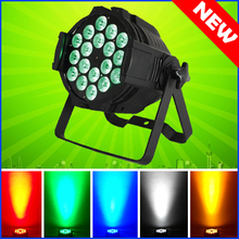 4PCS/CARTON 18*15W RGBWA 5-IN-1 LED Par 64 Aluminum LED Par Cans Light 18x15 DMX Led Par Stage Lighting Effect