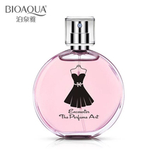 BIOAQUA 30Ml or 50Ml Liquid Female Perfumes Natural Plants Extracts Fragrance Spray Scent Parfum For Women Antiperspirant(China)