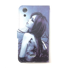 for Micromax Q340 Case, PU Leather Flip cover Case For Micromax Canvas Selfie 2 Q340, Lanyard Gift +Tracking number