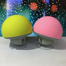 Cute Wireless Portable Bluetooth Speaker Mushroom Shape Speakers Small Speaker for Mobile Phone iPad 3 Colors Best price(China)