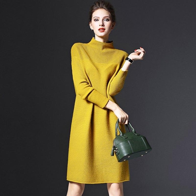 Офис платье летнее платье 2017 Vestidos Весна, водолазка Платья для женщин(China)