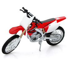 Scale 1:12 Maisto Model Cross-country Motorcycle, Alloy Diecasts & ABS Honda CRF450R Mountain Bike, Car Toy For Boys, Kids Toys(China)
