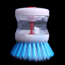 New Kitchen Pot Pan Dish Bowl Palm Wash Tool  Brush Scrubber Cleaning Cleaner 8CI5