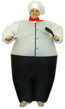 inflatable chef costume kitchener costume The Cook suit restaurant  chef costume