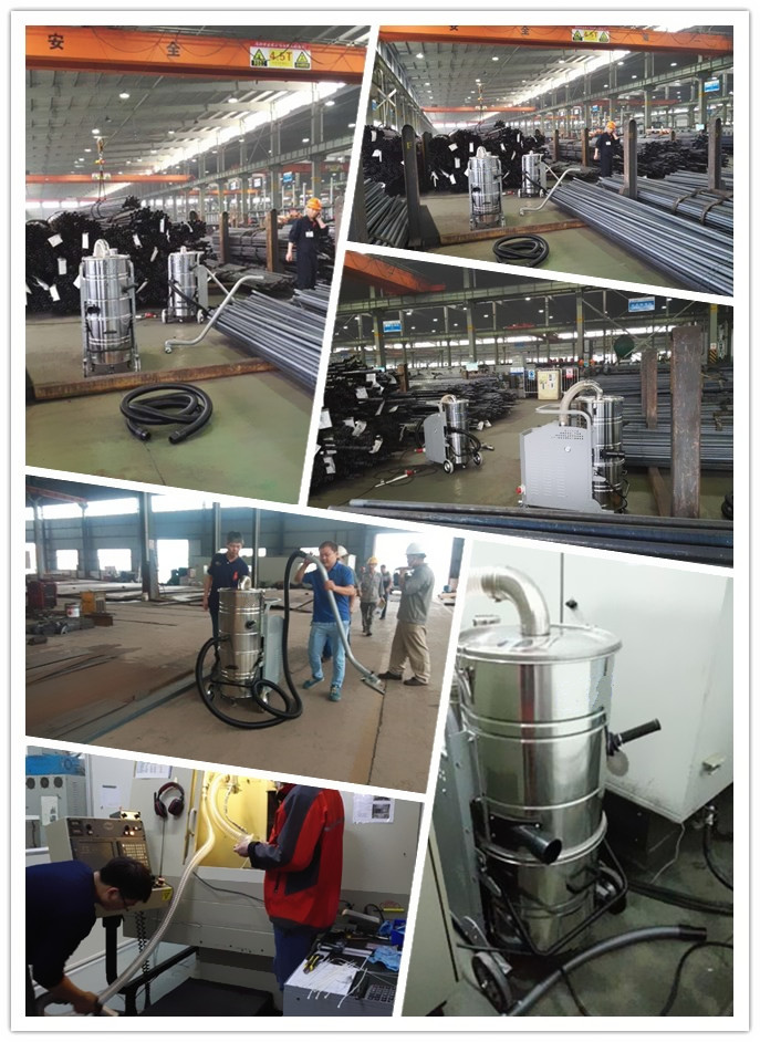 Three phase Industrial Vacuum cleaner for concrete grinding and polishing