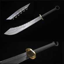 Chinese sword handmade nine ring Broadsword