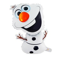 72*43cm Super shape Olaf snowman Birthday Party Wedding Christmas Day Decoration Olaf Foil Helium Balloon Supplies Kids Gift Toy