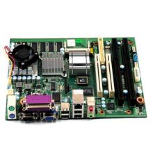 2*RS232 com port motherboard dual isa slot motherboard(China)