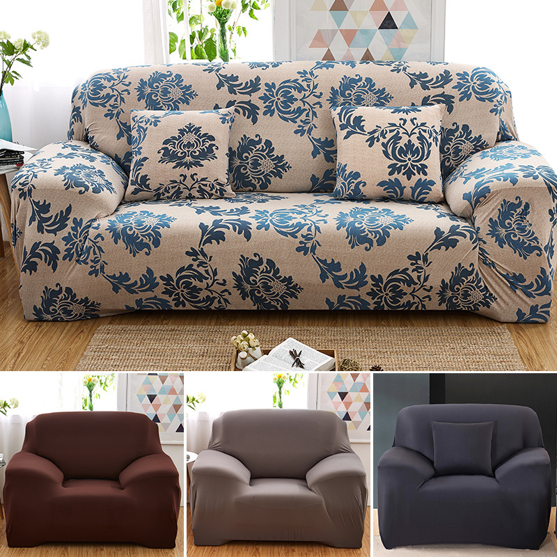New Style Sofa Cover Soft Chair Loveseat Slipcover Stretchable Printed Cushion Sofa Case Washable Funiture Elastic Covers fundas(China (Mainland))