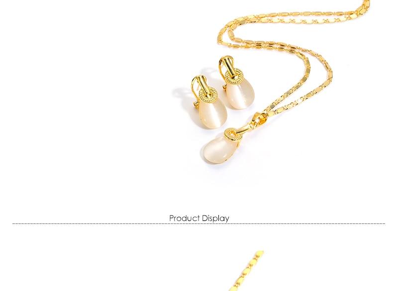 AYAYOO Jewelry Sets For Women Dubai Wedding African Beads Jewelry Set White Vintage Antique Turkish Fashion Bridal Jewelry Sets (2)