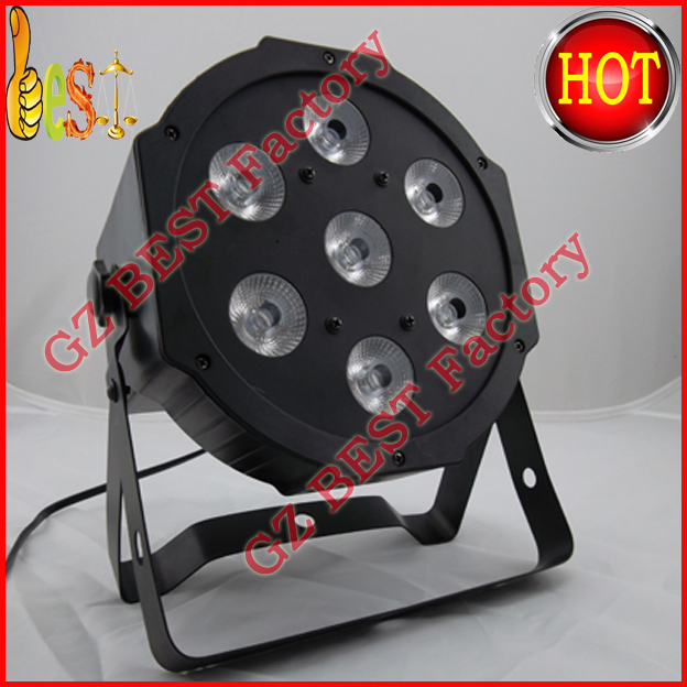 5pcs/lot Fast Shipping American DJ Profile Panel Wash RGB LED Powered Wash And Effect Light DMX 3/7 Channels<br>