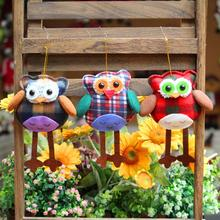 2017 hot fashion Decoration Home Party Christmas Christmas Tree Ornaments Hanging Cartoon Christmas Tree owl Hanging Ornaments(China)