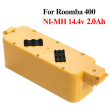 14.4V 2000mAh NI-MH Replacement Battery Pack for iRobot Roomba 400 Series 405 410 415 4232 4130 4150 4170 4188 4210 Cleaner