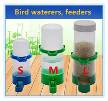 Bird drinking fountain Feeding Cup Parrot under the feeder Bird water bowl Thrush kettle Bird appliances wholesale Free shipping