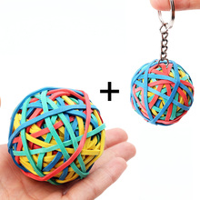 2 Pcs Colored Rubber Band Stress balls For Office/Home Rubber Band Fidget Hand Training Sensory Toy For ADHA/Autism(China)