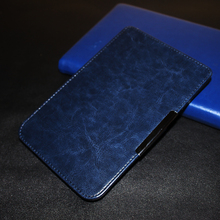 case for pocketbook touch 2 614 PU leather cover case+screen protector+stylus