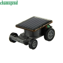 CHAMSGEND Modern Solor Toy Educational Solar Powered Vehicle Solar Car Educational Kit Gift Toys for Baby Kid Children  Jan17