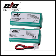 2x Eleoption 2.4V 800mAh Ni-MH Cordless Phone Battery for Vtech BT184342 BT18433 For Uniden BT-1011 BT101