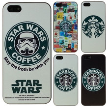 Hot Star Wars Coffee Design Phone case for iPhone 4 4S 5 5s 5c SE 6 7 Plus 6S Plus Cover Fundas