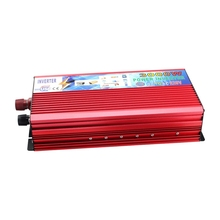Peak Power 3000W DC 12V AC 220V Car Power Inverter Modified Sine Wave Inverter  Car Converter Rated 2000W Full Protection