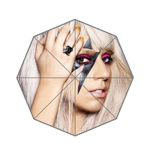 Lady Gaga Customized Umbrella Fashion Design Umbrella For Man And Women High Quality Christmas Gift  0140