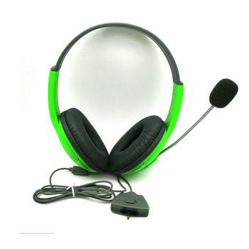 New For XBOX360 Games Headset Headphone with Mic Microphone Earphone for XBOX 360 Gaming Headset O3