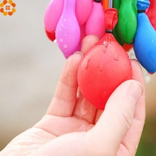 2016New!111PCS/3Bunchs  Colorful Mini Balloon Water Balloons For Chindren Beach Toys/Outdoor Sports/Swimming Pool Party