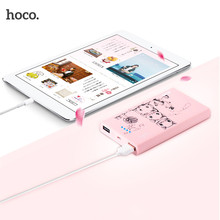 HOCO 13000mAh Cookie External Power Bank Lovely Mouse Battery Backup Charger For All Mobile Phones Premium Gift(China)