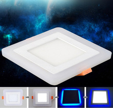 New Design Square LED Panel Downlight 6W 9W 16W 24W 3 Model LED Panel Lights AC85-265V Recessed Ceiling Painel Lights