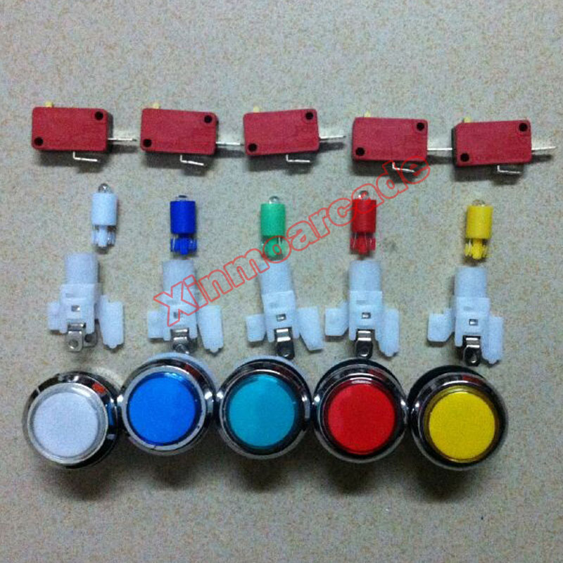 X LED Button 04