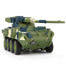 Cool RC Tank Car Camouflage Green Yellow 14*5.5*4.5CM Leopard Tanks System Remote Control Kids Toys as Great Birthday Gifts