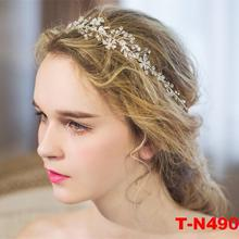 2017 Fashion hair decorations crystal cute flower for girls long hair wedding bride bridesmaid hair accessories jewelry(China)