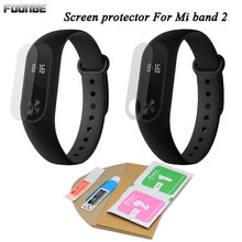FOONBE 2pcs Protector Film For Xiaomi for Mi Band 2 Bracelet Full Cover+ Holes Ultrathin Screen Protective Film(China)