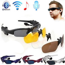 Sun Glasses BlueTooth Earphone headphone for phone driver, suitable for outdoor sports, hiking, driving, travel use.