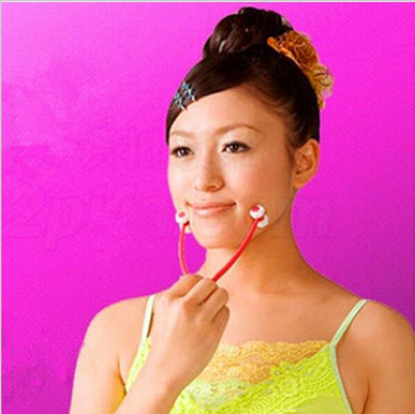 2pcs /lot new face-lift Handy Roller Ball Facial Massager Face Neck Chin Massage Slimmer Body Relax slimming tool MH134<br><br>Aliexpress