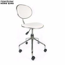 Swivel Task Office Chair Stool For Bar Makeup Store Beauty Salon Reception Barber Shop, Portable Furniture For Mini Small Space(China)