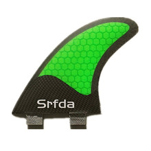 2017 hotsales FCS G7 surf fins with fiberglass honeycomb for surfing size L 3pcs/set