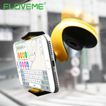 FLOVEME Universal Automatic Lock Adsorption Desk Car Phone Holder For Mobile Phone Tablet PC Vehicle Mounted Bracket Car Holder