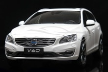 Diecast Car Model Volvo V60 1:18 (White) + SMALL GIFT!!!!!!!!!!!