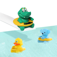 Buy Baby Temperature Water Thermometer Infant Duck Baby Bath Thermometer Bear Dinosaur Kid Bath Toy Baby Tub Toy Temperature Tester for $4.69 in AliExpress store