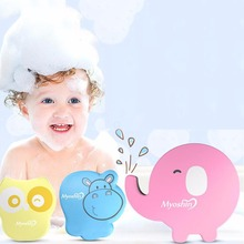 Buy Hot Newborn Baby Bath Towel Accessories Infant Shower Sponge Cotton Rubbing Body Wash Cute Child Kid Bathing Brushes Sponges Rub for $1.51 in AliExpress store