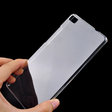 Ultra Thin For Huawei P8 Lite Case Cover Clear Transparent Crystal Hard Back Case For Huawei P8 Lite Cell Phone Shell Cover(China)
