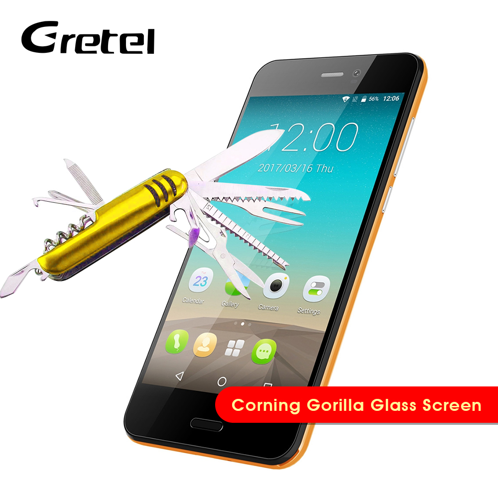 "Original Gretel A7 3G Smartphone Android 6.0 4.7"" MTK6580 Quad Core Mobile Phones 1GB+16GB HD Screen Proximity Sensor Cellphones(China)"